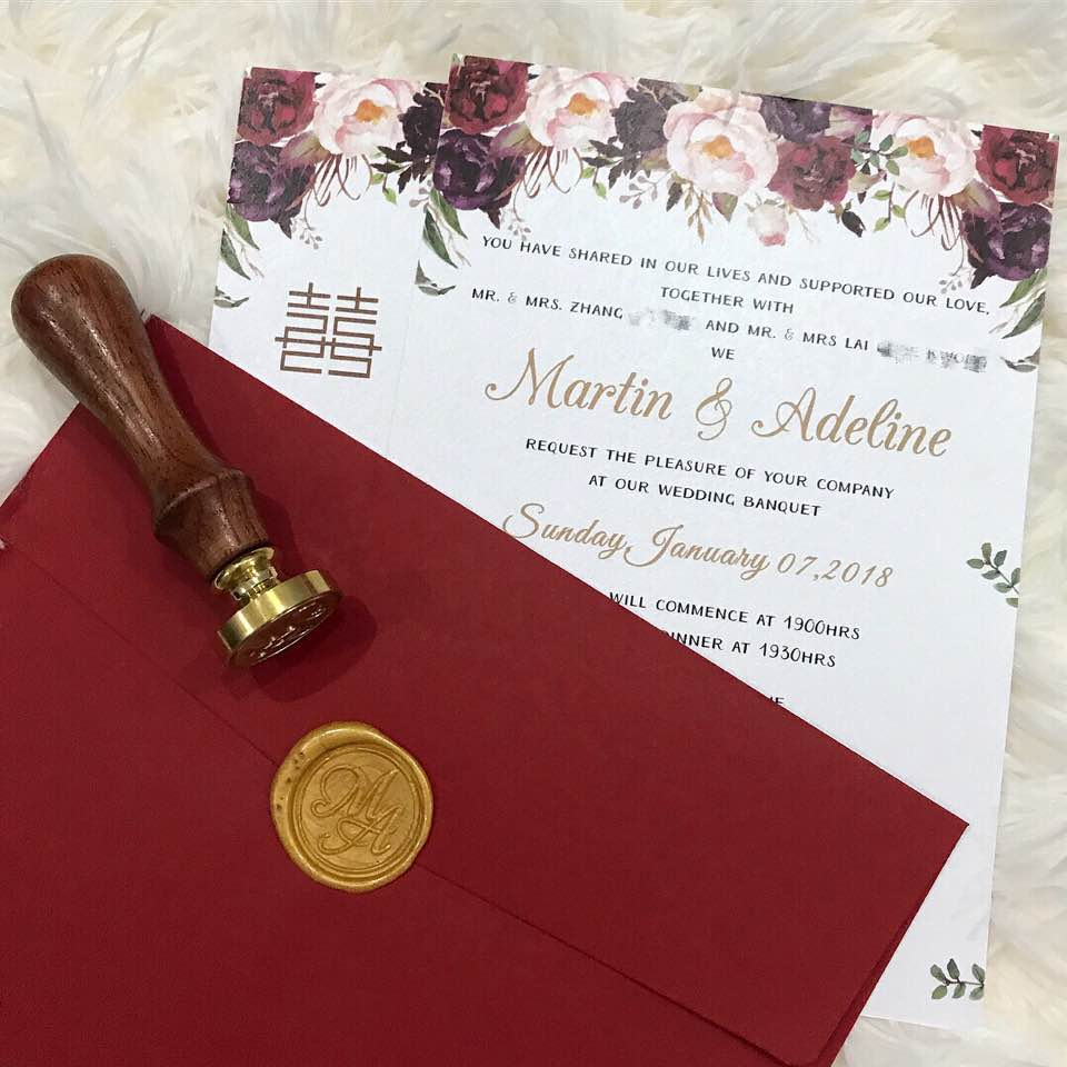 MarAdeWed Wedding Invitations & Emblem 💌 - Lindelious - Dayre