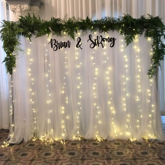 White Tulle Backdrop In Different Styles Propsandcrafts