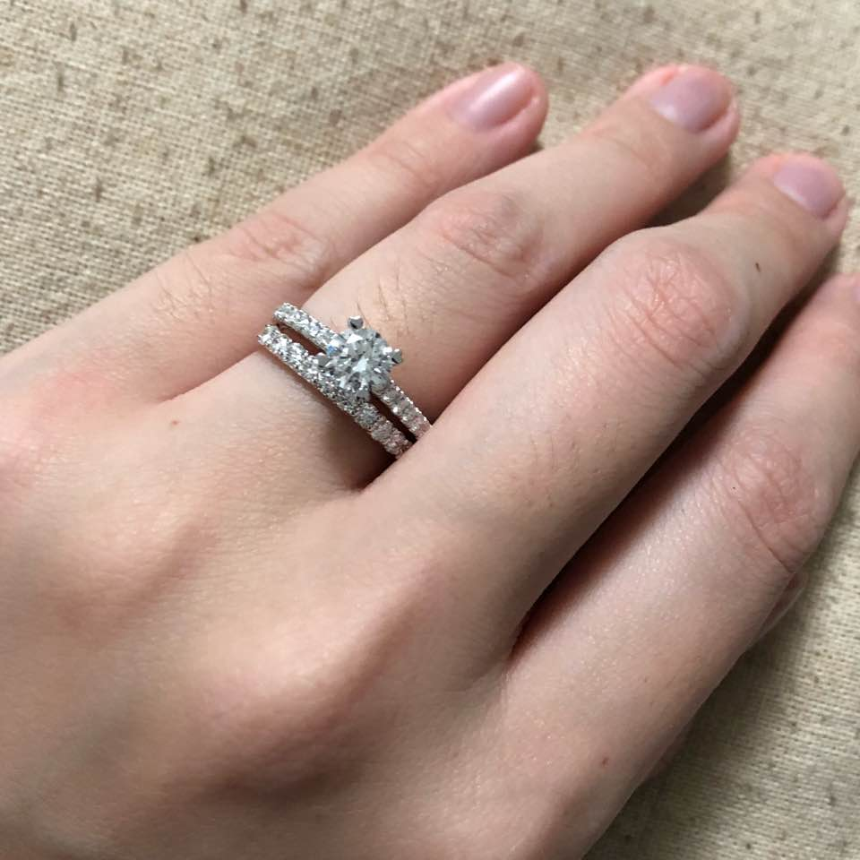 wedding band and proposal ring - ilovekitty - Dayre