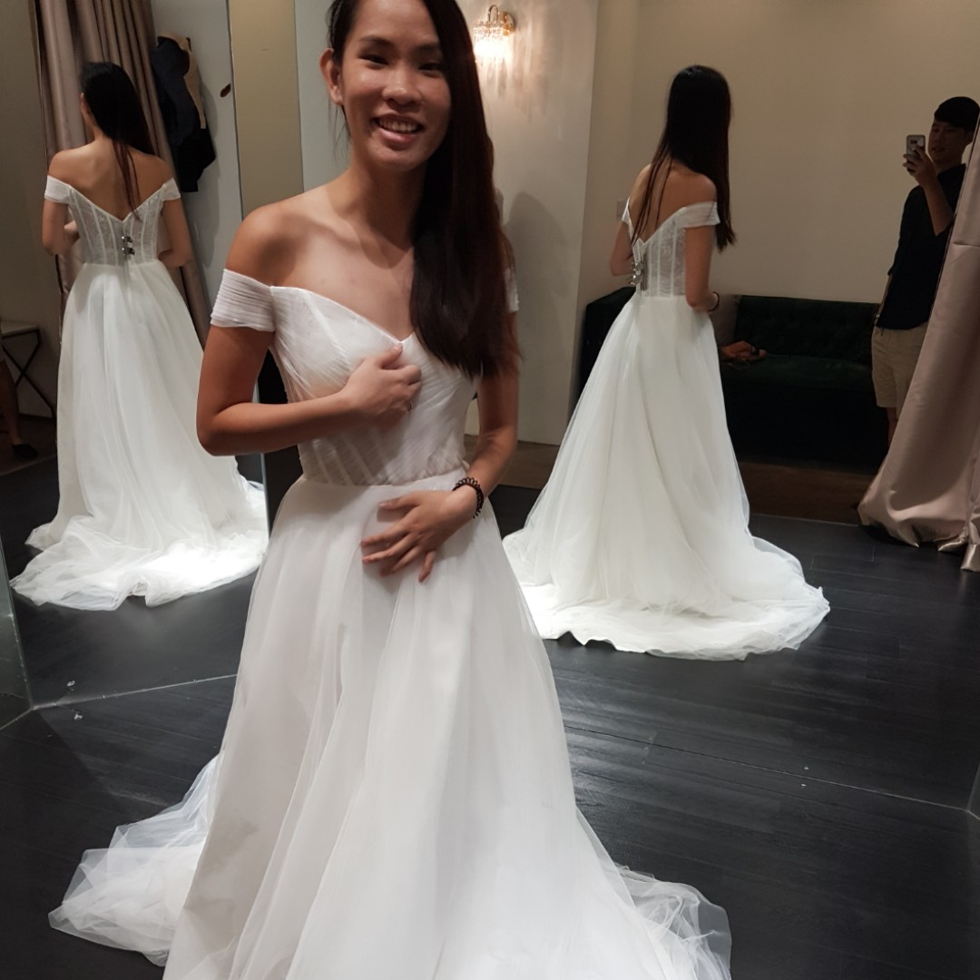 First Gown Fitting Heartands0ul Dayre