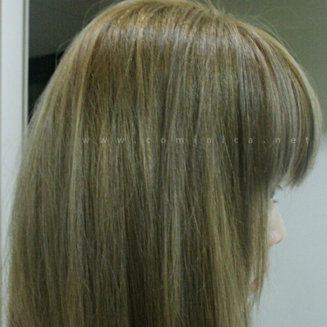 Opted For Ash Colour Agn Brown Very Tempted To Get Green Or Granny Grey After Exams
