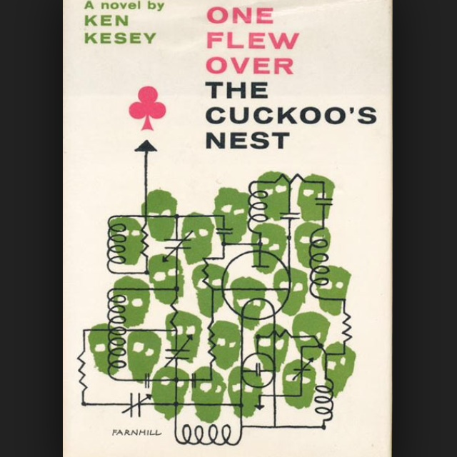 a comparison of one flew over the cuckoos nest by ken kesey and 1984 by george orwell One flew over the cuckoo's nest is a 1975 american comedy-drama film directed by miloš forman, based on the 1962 novel one flew over the cuckoo's nest by ken keseythe film stars jack nicholson, and features a supporting cast of louise fletcher, william redfield, will sampson, and brad dourif.