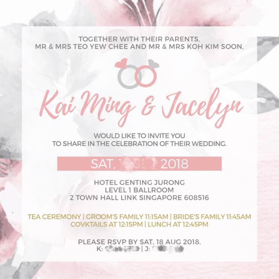 VENDOR   Wedding Invite - jcaelyn - Dayre