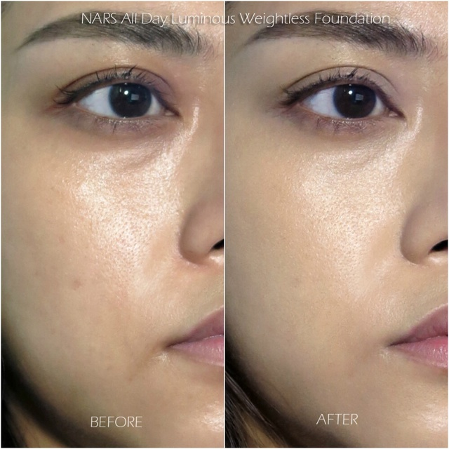 dry skin patchy foundation